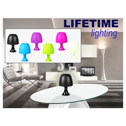 Mws Lampada Da Tavolo Lifetime Lighting Paralume In Plastica