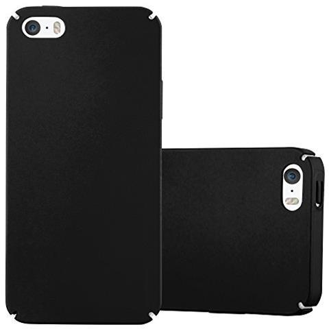 Cadorabo Custodia Per Apple Iphone 5 / Iphone 5s / Iphone Se In Nero Metallo - Rigida Cover Protettiva Sottile Con Bordo Protezione - Back Hard Case ...