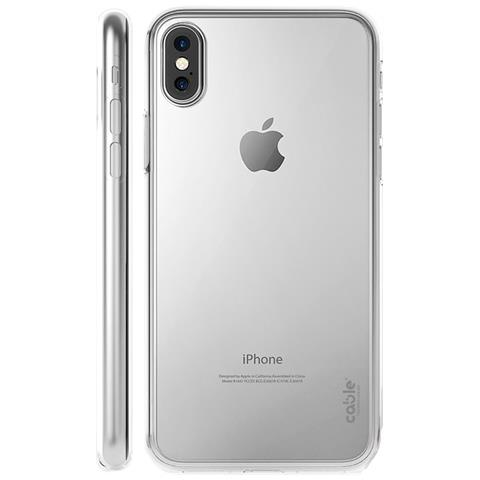 CABLE TECHNOLOGIES Isee Clear For Iphone X, Cover Trasparente In Morbido Tpu, Profile Sottile, Case Custodia Di Protezione