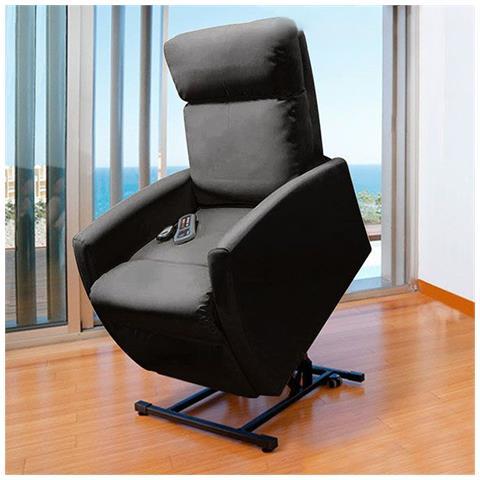 Poltrone Relax Massaggio Prezzi.Cecotec Poltrona Relax Massaggiante Alzapersona Compact 6009