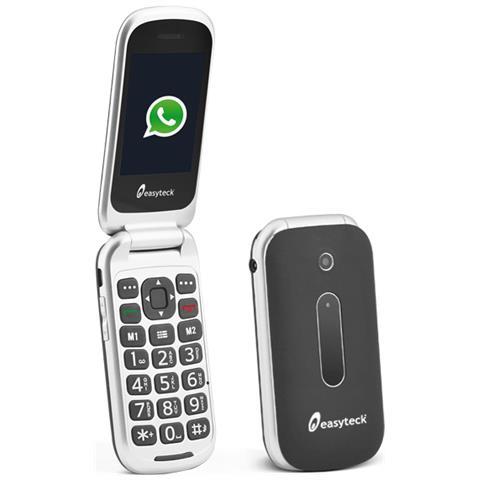 T710 Cellulare Senior Dual Sim con Whatsapp Display 2.4