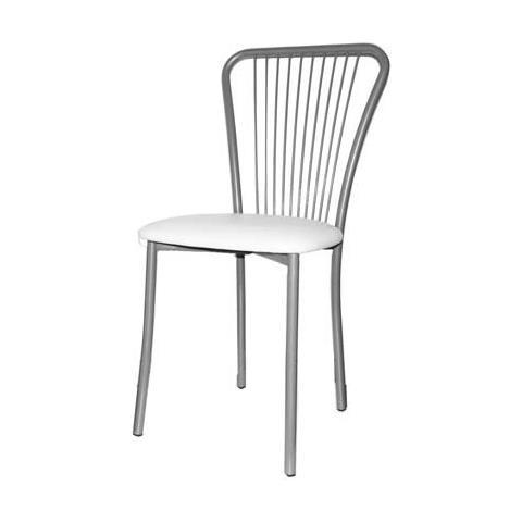 ARGONAUTA - Sedia Con Struttura In Metallo E Seduta In Ecopelle ...