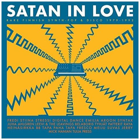 SVART RECORDS - Satan In Love - Rare Finnish Synth-Pop And