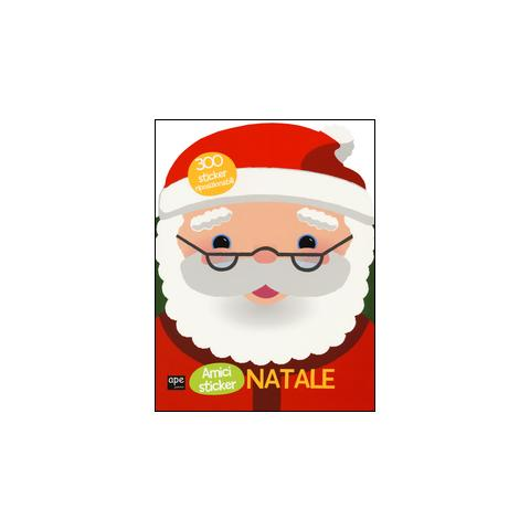 Adesivi Babbo Natale.Ape Junior Babbo Natale Con Adesivi Eprice