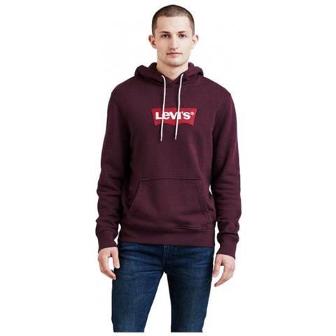 online store 729b9 e33ef LEVI'S Modern Hm Hoodie Felpa Da Uomo Con Cappuccio Taglia Xxl