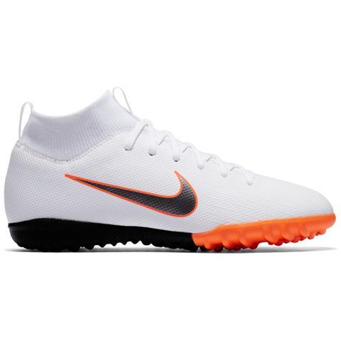pretty nice 35288 9a822 NIKE , Scarpe Calcetto Bambino Nike Mercurial Superflyx Vi Academy Tf Just  Do It Pack Taglia 35,5 , Colore Bianco   arancio , ePRICE ...