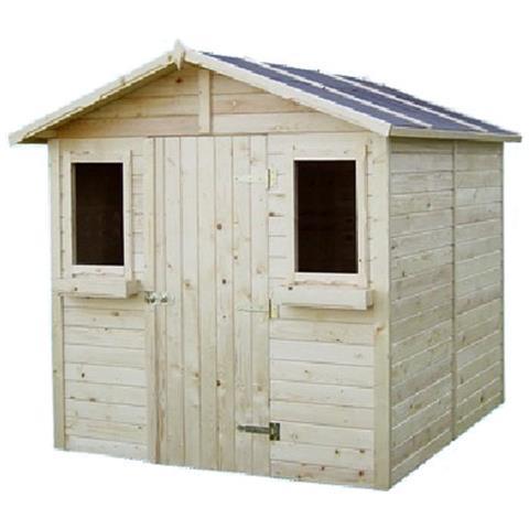 HOMEGARDEN Casetta in legno ricovero porta attrezzi 208x229x223