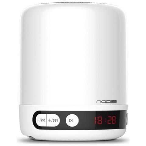 Altoparlante Bluetooth NT-LSP01 con Luce LED Colore Bianco