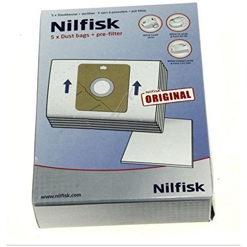 serie Coupé 10 Sacchetto per Aspirapolvere per Nilfisk Coupe Sacchetto per la polvere FILTRO 2