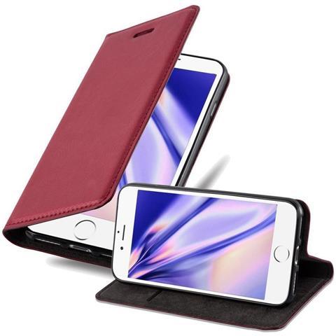 Cadorabo Custodia Libro Per Apple Iphone 6 Plus / Iphone 6s Plus In Rosa - Con Vani Di Carte, Funzione Stand E Chiusura Magnetica - Portafoglio Cover ...