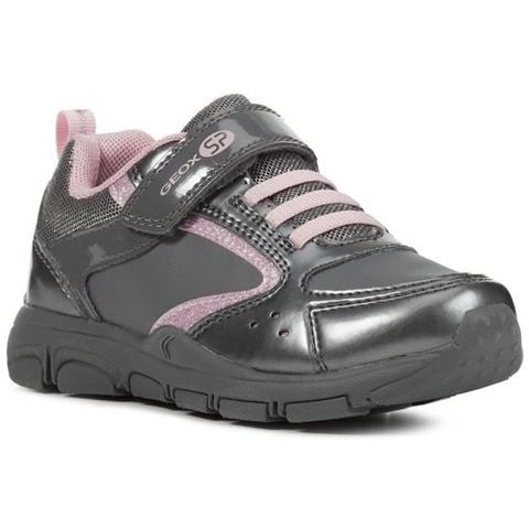 GEOX Sneakers Grigio Rosa Girl J 31
