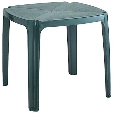 Tavolo Da Giardino Verde.Ipae Progarden Tavolo Da Giardino Impilabile Verde