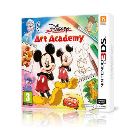 N3DS - Disney Art Academy
