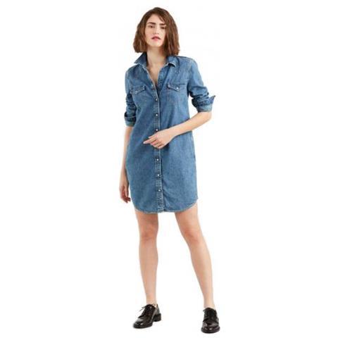 36 Dress Camicia Taglia Donna Levi's Ultimate Lunga Western Eprice tdhQrsC