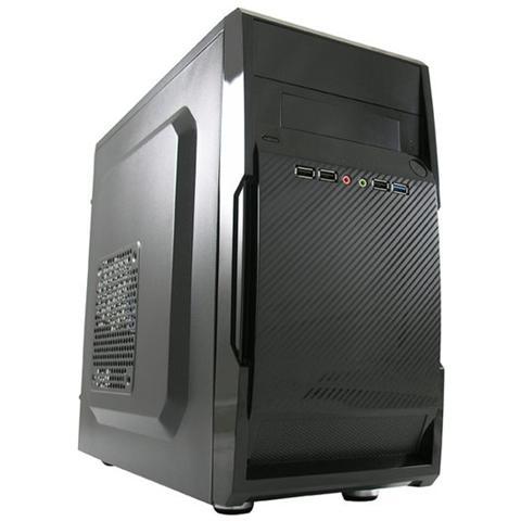 Case Mini Tower Micro-ATX / Mini-ITX 1 Porta USB 3.0 Colore Nero