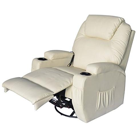 OUTSUNNY - Poltrona relax massaggio reclinabile a 8 punti - ePRICE