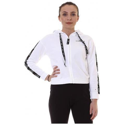 Champion Full Zip Sweatshirt Felpa Donna in GARZATO