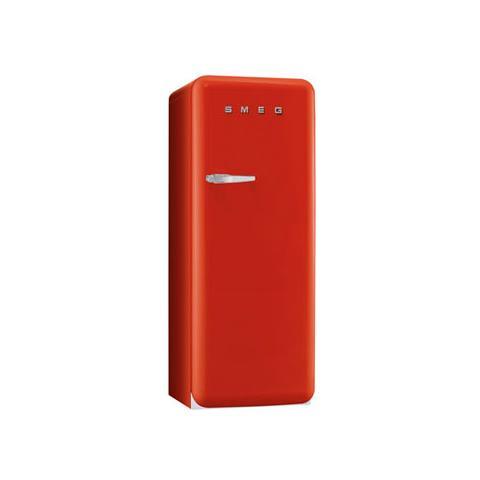 SMEG Frigorifero Monoporta FAB28RR1 Anni \'50 Classe A++ Capacità Lorda /  Netta 256/248 Litri Colore Rosso