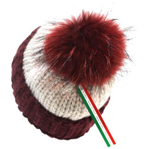 ANLU - Cappello Donna Con Pon Pon Linea Uncinetto W. 608 Bordo - ePRICE 1c3877dbedc2