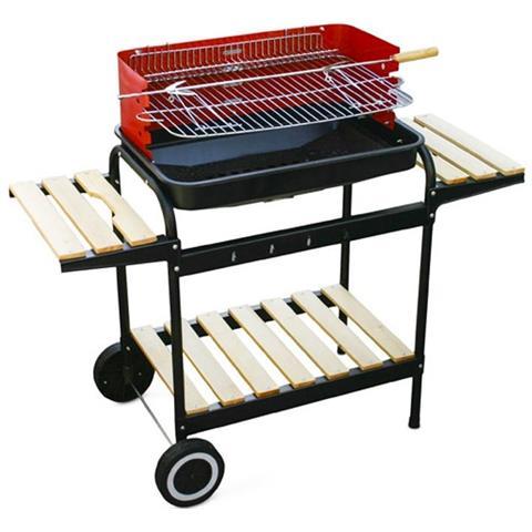 MilaniHome - Barbecue Carbonella 73 Con Griglia Per Esterno Giardino ...