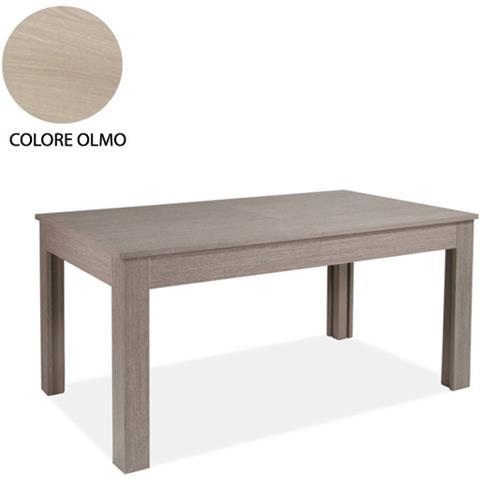 ARGONAUTA Tavolo Allungabile In Legno Nobilitato Colore Olmo 160/320x90 Cm