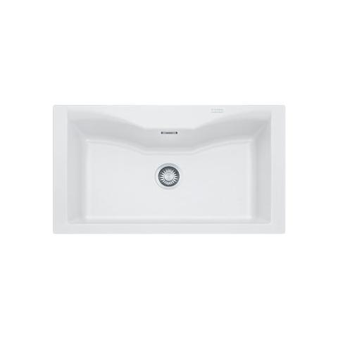 FRANKE - Lavello Monovasca Da Incasso ACG610NWH Colore Bianco 1 ...