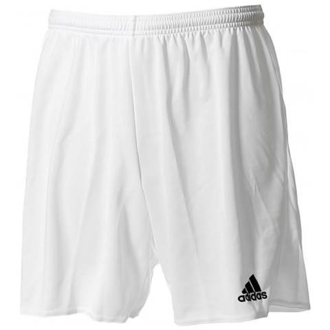 migliori scarpe da ginnastica d0658 20875 Adidas Parma 16 Short Pantaloncino Calcio Bianco Taglia M