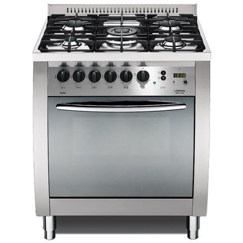 Lofra Cucina Elettrica C76mf C Fuochi A Gas Forno Elettrico Ventilato Dimensione 70 X 60 Cm Colore Inox Lucido Eprice