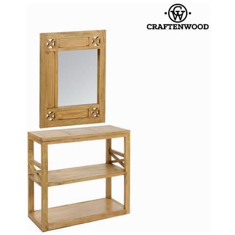 craftenwood - Console Ingresso Con Specchio Ios - Village Collezione ...