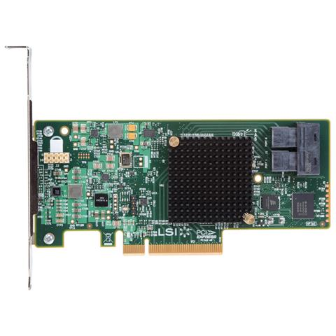 RS3WC080, SAS, Serial ATA III, PCI Express x8, Half-height (low-profile), 0, 1, 5, 10, 50, LSI3008, 12 Gbit / s