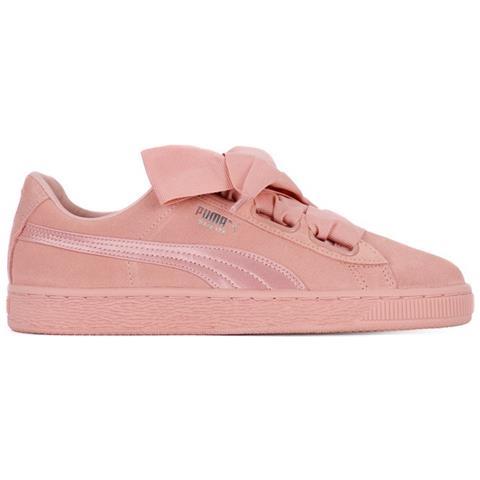 puma scarpe suede heart rosa