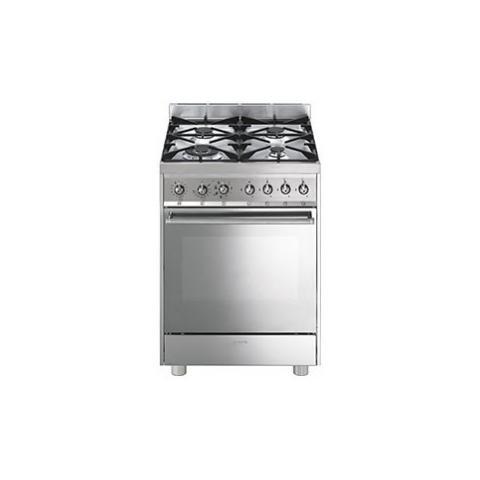 SMEG - Cucina elettrica C6GMXI8-2 4 Fuochi Forno Elettrico ...