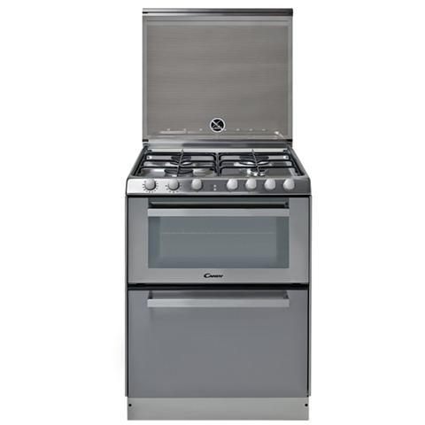 CANDY   TRIO 9501/1X Cucina Elettrica + Lavastoviglie + 4 Fuochi A Gas Forno  Elettrico Classe A Dimensioni 60 X 60 Cm Colore Inox   EPRICE