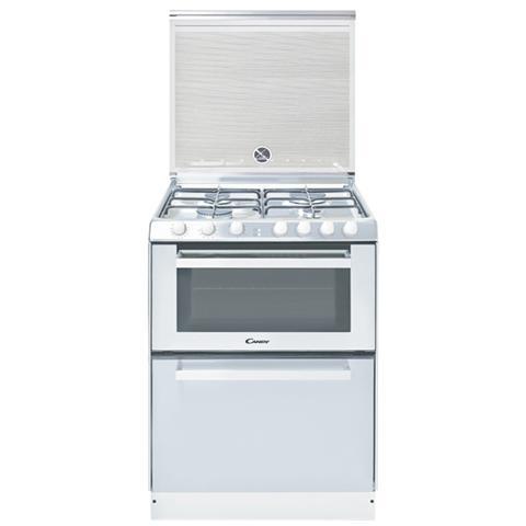 Delightful CANDY   Cucina Elettrica + Lavastoviglie TRIO 9501/1W 4 Fuochi A Gas Forno  Elettrico Classe A Dimensioni 60 X 60 Cm Colore Bianco   EPRICE