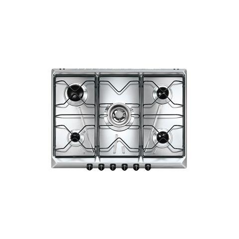 SMEG - Piano Cottura SRV576-5 a Gas 5 Fuochi Gas Colore Inox - ePRICE