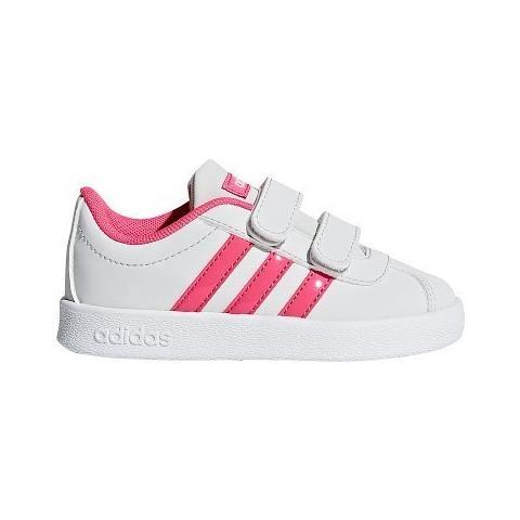 adidas Scarpe Vl Court 20 Cmf I Db1534 Taglia 27 Colore Bianco