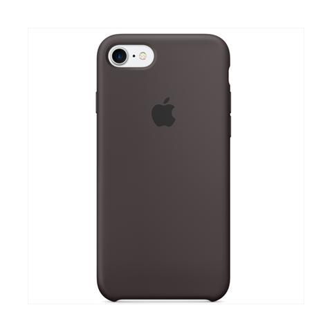 custodia iphone 7 silicone apple cacao