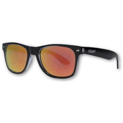 l'atteggiamento migliore 69568 e3b50 Zippo Occhiali Da Sole Zippo Uomo Donna Unisex Montatura Nera Lenti Arancio  Ob21-06