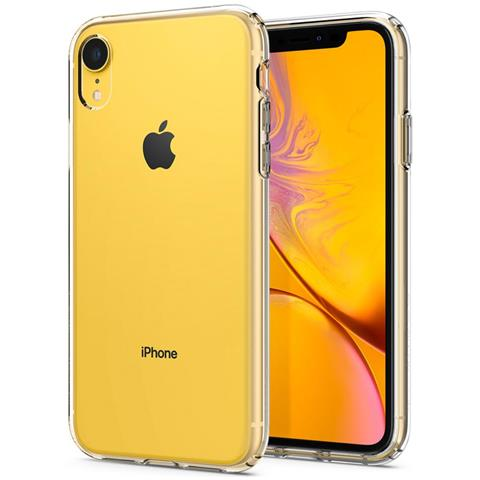 SPINGER Spigen 064CS24866 Liquid Crystal Cover iPhone XR, Custodia per Apple iPhone XR 6.1 Pollici, Trasparente