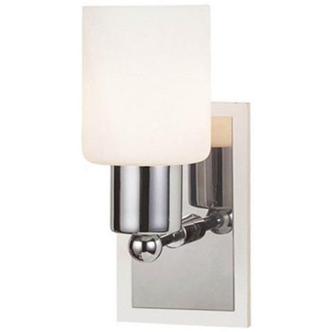 Homemania Lampada A Parete Atlas Bianco Cromo Design Classico