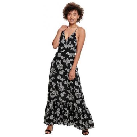 buy online 86cc5 01e06 Only Cheeka S / l Long Dress Wvn Vestito Da Donna Tg. Francese 36