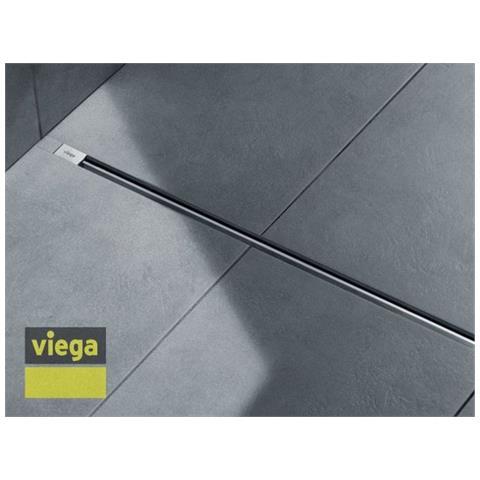 Viega Advantix Vario Griglia a Listello cm 30-120 Acciaio Inox Opaco 686 284
