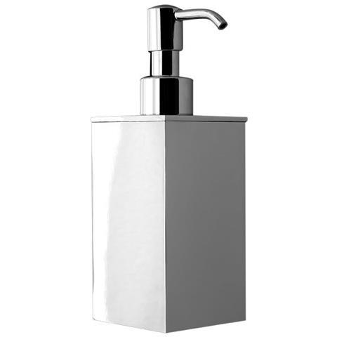 Bottiglioni Accessori Bagno.Bottiglioni Dosatore Di Sapone Liquido Da Bagno Da Appoggio Linea Picasso In Ottone Cromato Accessori Bagno