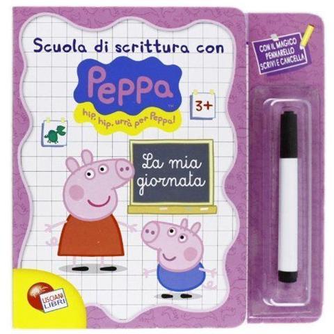 Lisciani Giochi La Mia Giornata Scuola Di Scrittura Con Peppa Pig