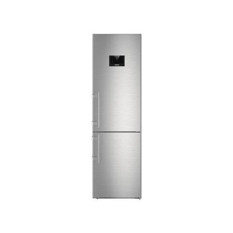 LIEBHERR Frigorifero Combinato CBNPES 4858 No Frost BluPerformance Classe  Energetica A+++ Capacità Lorda / Netta 391/344 Litri Colore Acciaio Inox