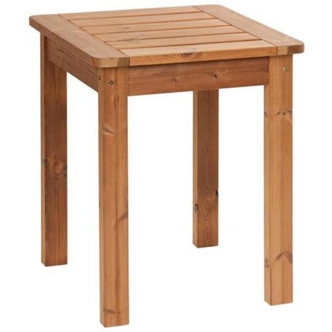Tavolo Piccolo Da Giardino.Prowood Tavolo Piccolo Da Giardino St160 In Legno Massiccio Thermowood Prowood
