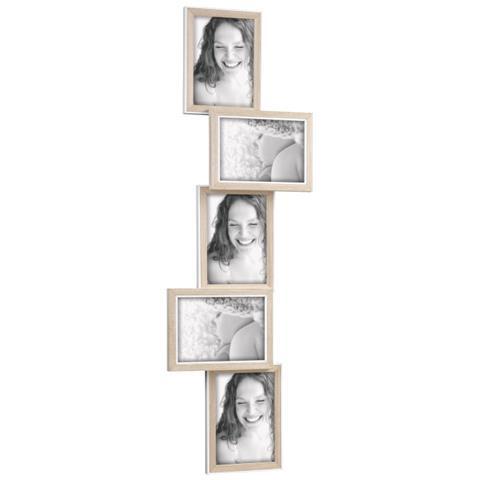 Mascagni One Portafoto Multiplo In Legno 28x87 Cm Da 5 Foto Mascagni Eprice