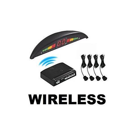 EASYELETTRONICA - Kit Con 4 Sensori Di Parcheggio Wireless Colore