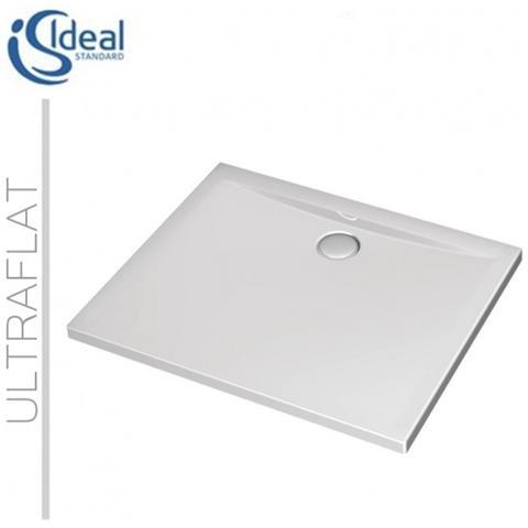 Piatto Doccia Ideal Standard 100x80.Ideal Standard Ultraflat K518001 Piatto Doccia Acrilico 100x80 Cm