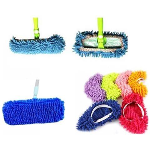 Cattura Polvere Fai Da Te.Arcamania Mop Panno Scopa Cattura Polvere Pulizia Pavimenti Microfibra Casa Vari Colori